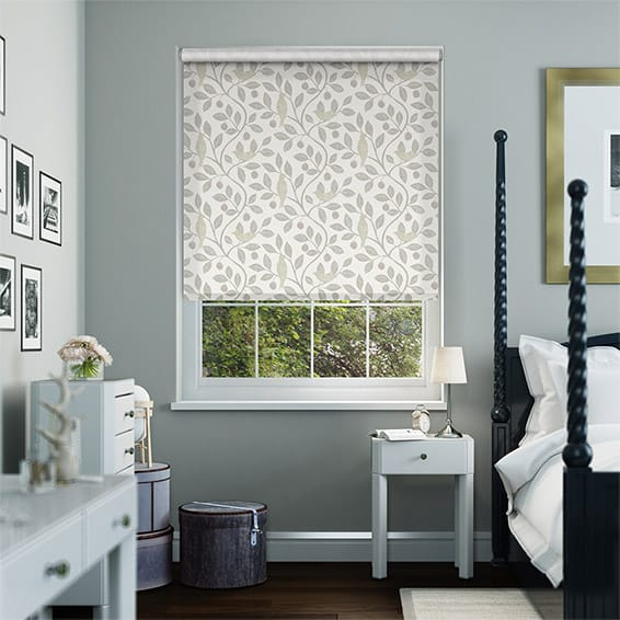 Damson Tree Heather Roller Blind