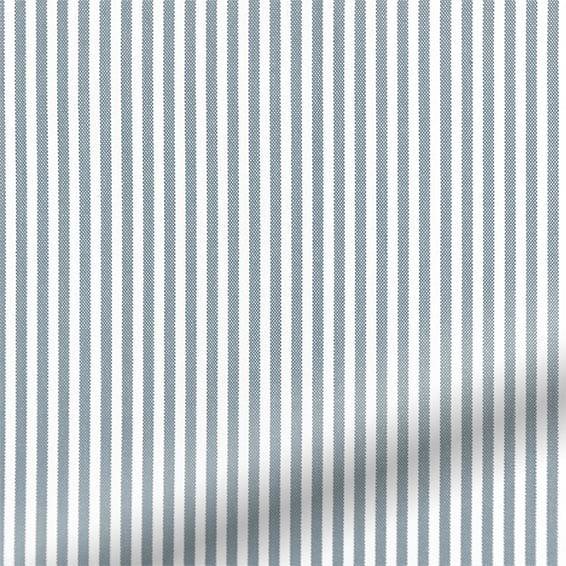 Devon Stripe Ocean Blue Roman Blind Blinds Online