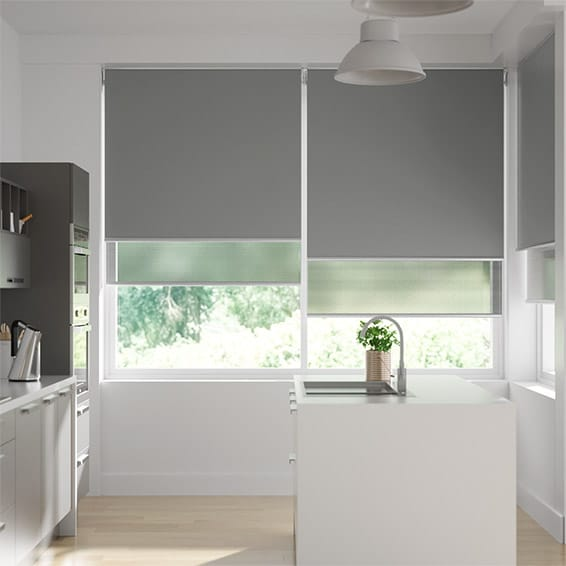 Eclipse Double Mid Grey & Modern Grey