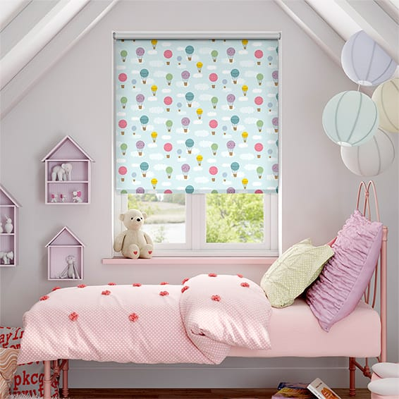 Drifting Skies Blockout Roller Blind