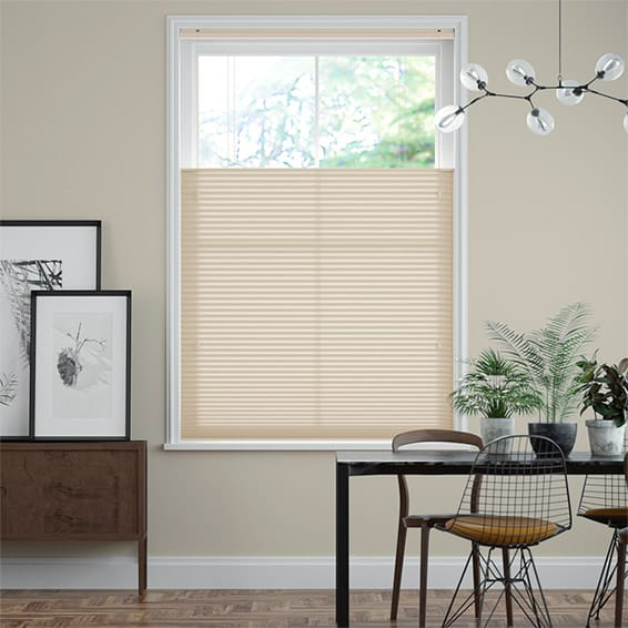 DuoLight Almond  Top Down/Bottom Up Pleated Blind