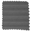 DuoLight Anthracite  Top Down/Bottom Up Pleated Blind slat image