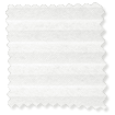 DuoLight Bright White Top Down/Bottom Up Pleated Blind slat image