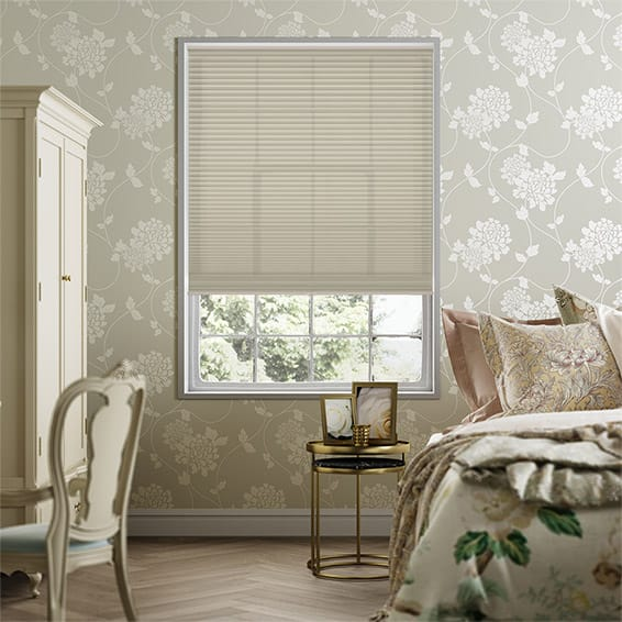 Duolight Cordless Fallow Pleated Blind