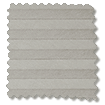 Duolight Cordless Gainsboro Grey Pleated Blind slat image