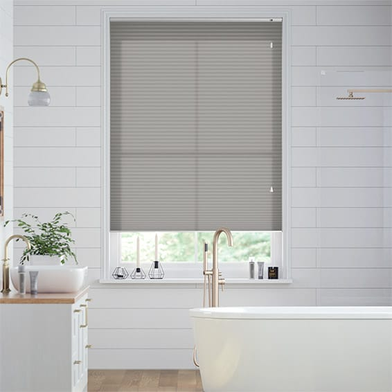 DuoLight Gainsboro Grey Pleated Blind