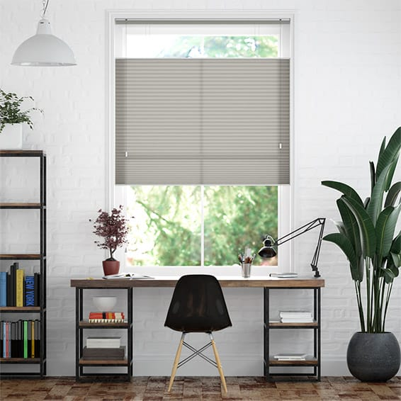 DuoLight Gainsboro Grey Top Down/Bottom Up Pleated Blind