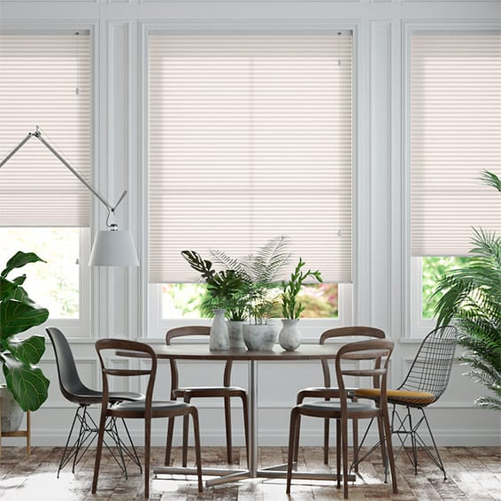 DuoLight Nude  Pleated Blind
