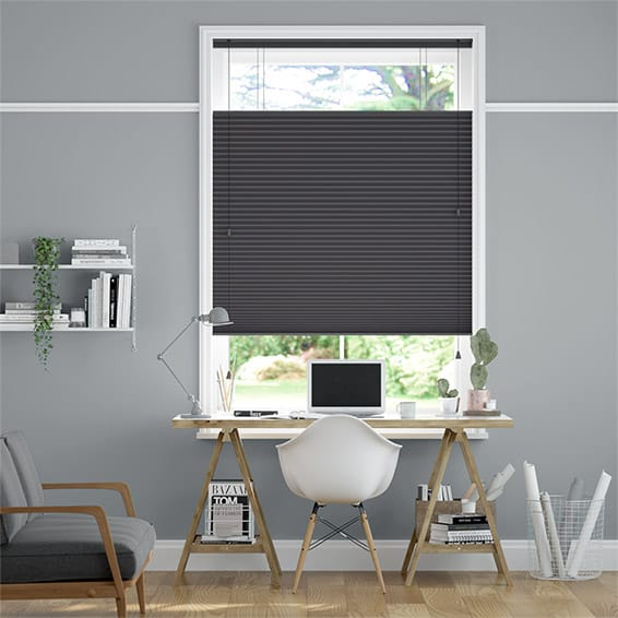 DuoShade Anthracite  Top Down/Bottom Up Pleated Blind
