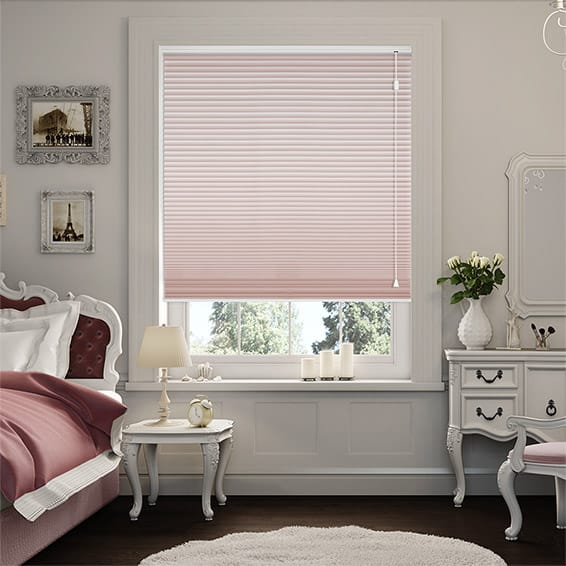 DuoShade Baby Blush Pleated Blind