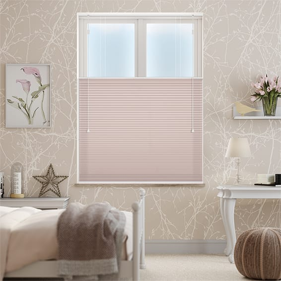 DuoShade Baby Blush Top Down/Bottom Up Thermal Blind
