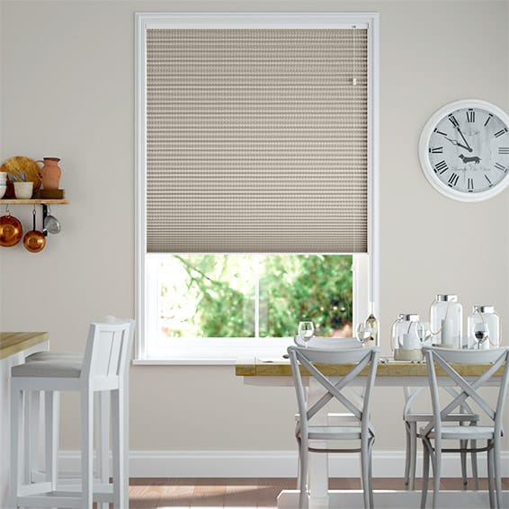 DuoShade Basket Weave Pleated Blind