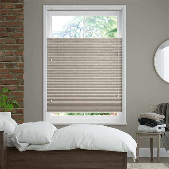 DuoShade Basket Weave Top Down/Bottom Up Pleated Blind