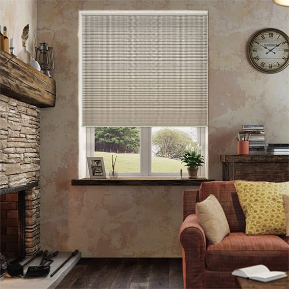 DuoShade Cordless Basket Weave Pleated Blind
