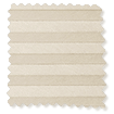DuoShade Cordless Beige Pleated Blind slat image