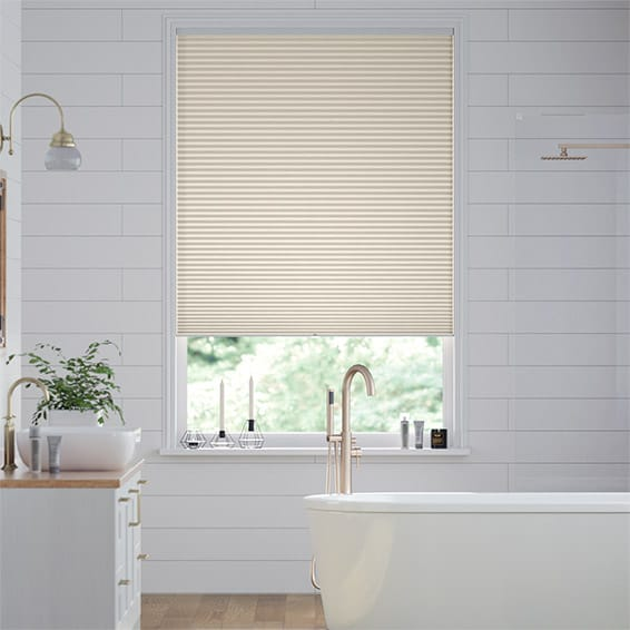DuoShade Cordless Cornsilk  Pleated Blind