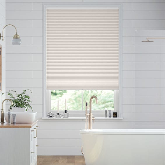 DuoShade Cordless Ivory  Pleated Blind