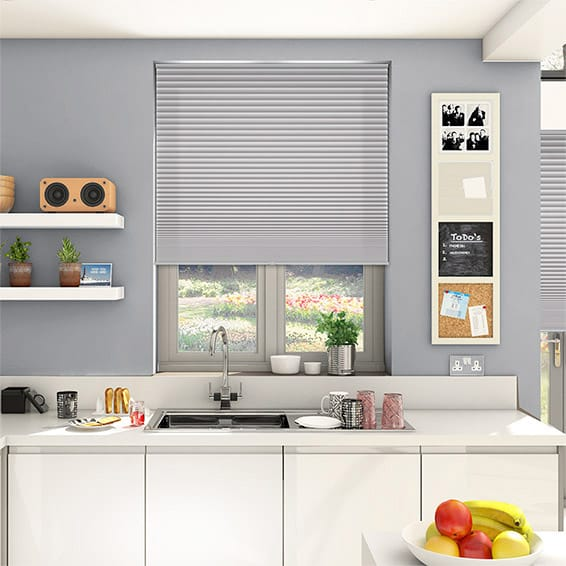 DuoShade Cordless Plume Pleated Blind