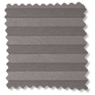 DuoShade Dark Grey Top Down/Bottom Up Pleated Blind slat image