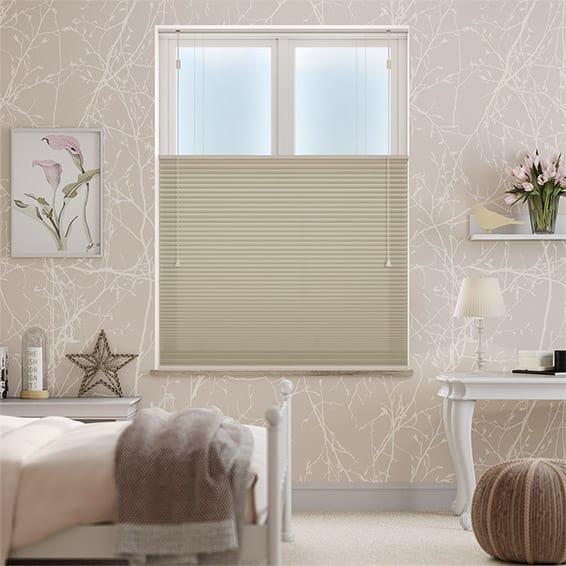 DuoShade Fallow Top Down/Bottom Up Pleated Blind