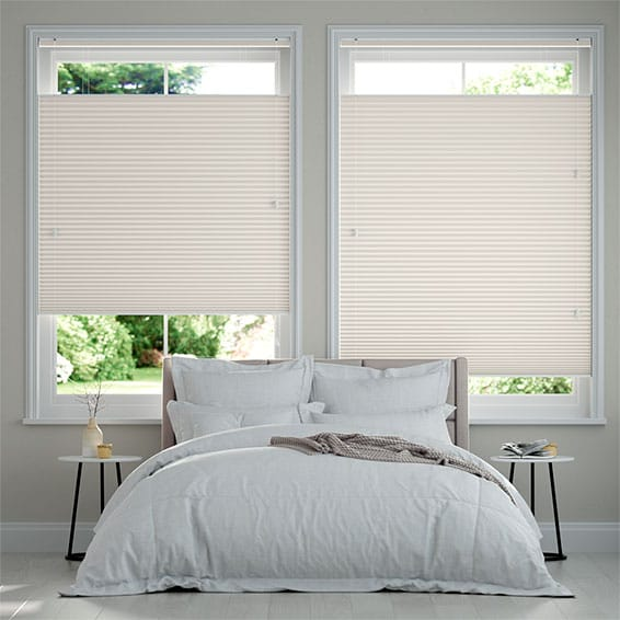 DuoShade Ivory  Top Down/Bottom Up Pleated Blind