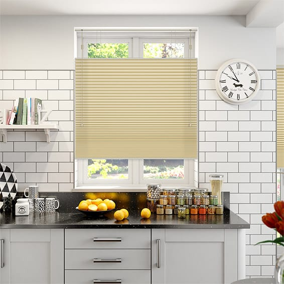 DuoShade Maize Top Down/Bottom Up Pleated Blind
