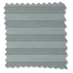DuoShade Nickel Grey Top Down/Bottom Up Pleated Blind slat image