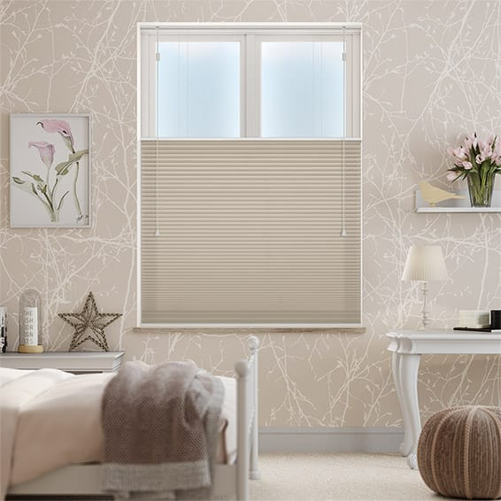 DuoShade Pebble Top Down/Bottom Up Pleated Blind