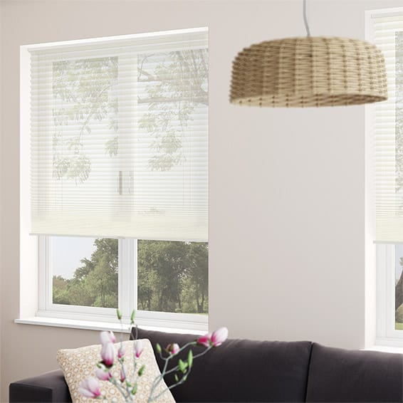 Duovoile Cordless Cream Pleated Blind Blinds Online