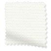 Eclipse White Blockout Roller Blind slat image