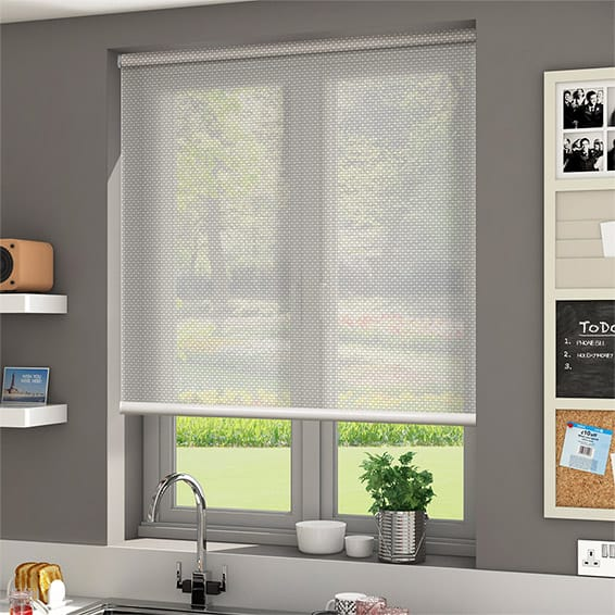 Oracle Bone Off White Sunscreen Roller Blind Blinds Online