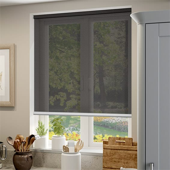 Oracle Bronze Charcoal Sunscreen Roller Blind Blinds Online