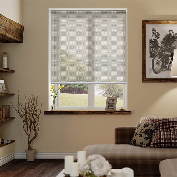 Oracle Taupe Sunscreen Roller Blind
