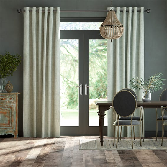 Eternity Linen Limestone Curtains