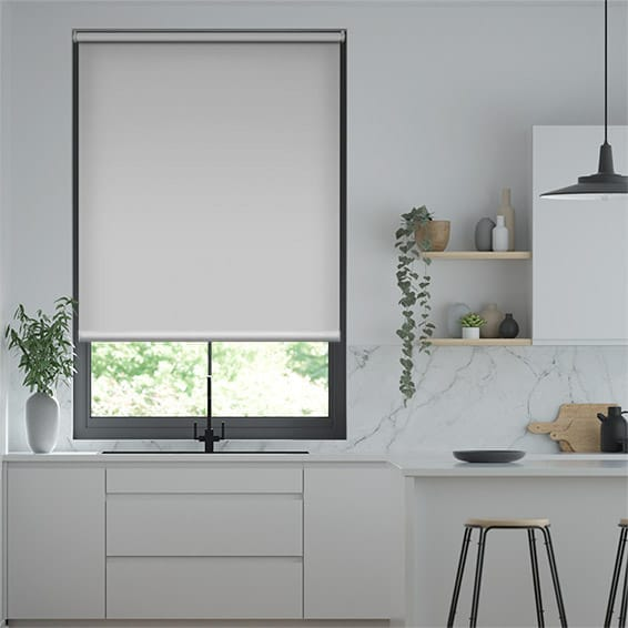 Express Titan Simply Grey Roller Blind
