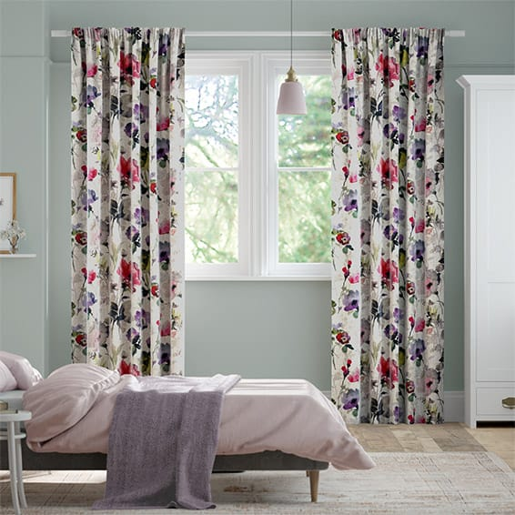 Fiori Carnation Curtains