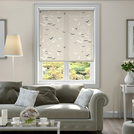 Flight Linen Roller Blind