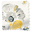 Floral Ink Linen Graphite swatch image