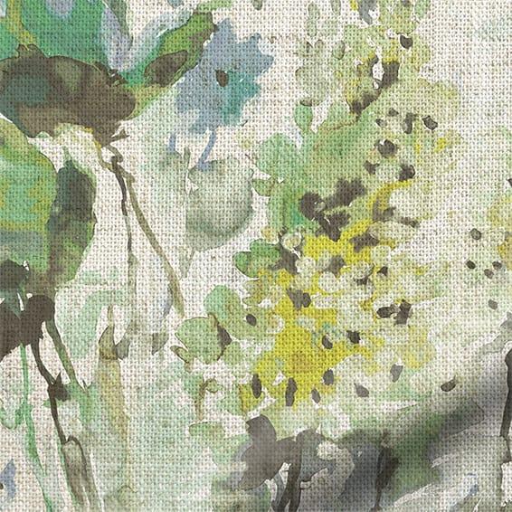 Foxglove Linen Evergreen Roman Blind Blinds Online