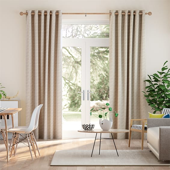 Fustian Bisque Curtains