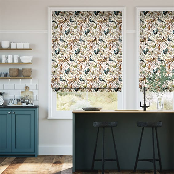 Game Birds Multi Roman Blind