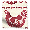 Hen & Border Polka Red swatch image