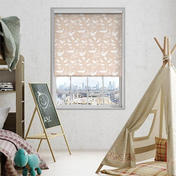 Hygge Birds Blush Roller Blind