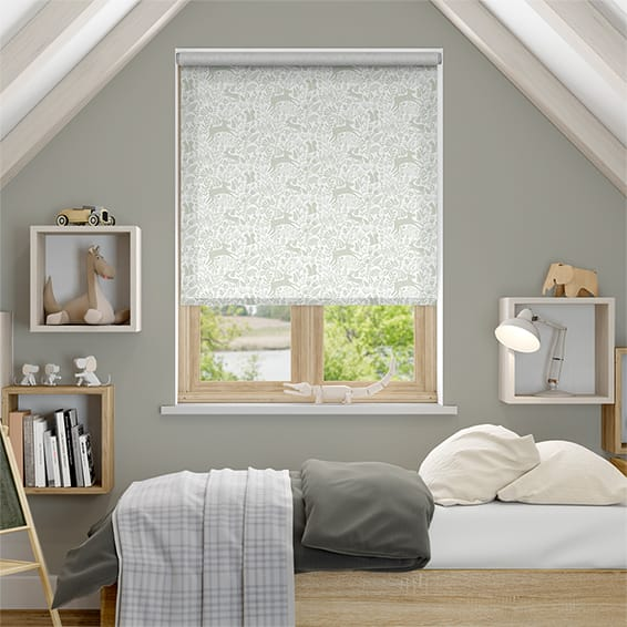 Kelda Dove Grey Roller Blind