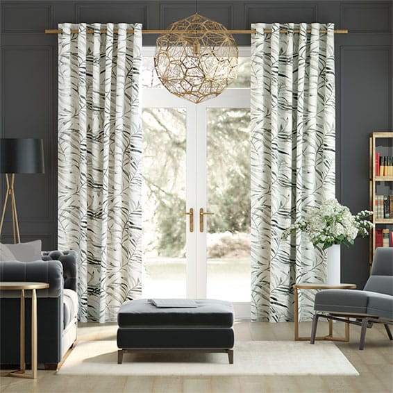 Kentia Linen Smoke Curtains