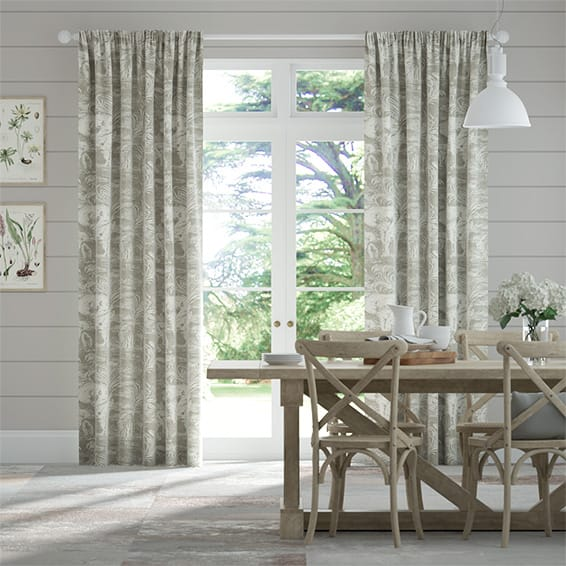 Kinabalu Silver Curtains