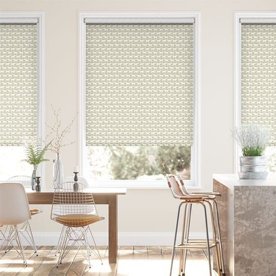 Labradors Pale Grey Roller Blind