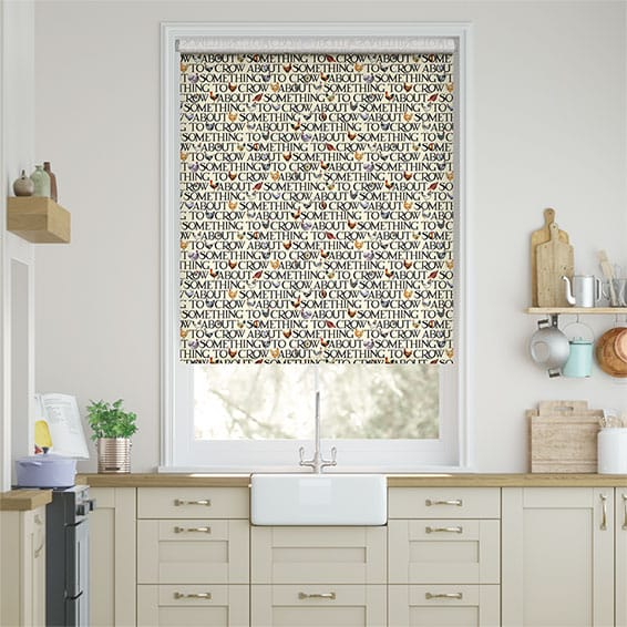 Large Hen & Toast Multi Roller Blind
