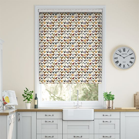 Large Hens Multi Roller Blind
