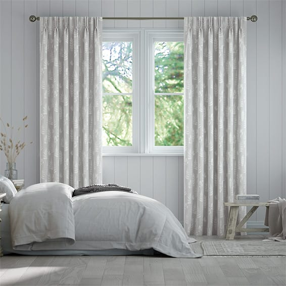 Laurel Dove Grey Curtains